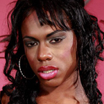 Kiyara2. Slim black ladyboy with a great dick!