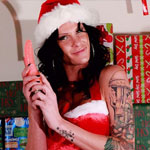 Christmas with morgan bailey.  Morgan Bailey shares her Christmas wishes with you