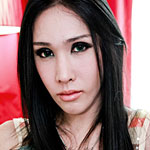 Fiona s debut. Delicate Thai tranny makes her debut on Franks shemale World!